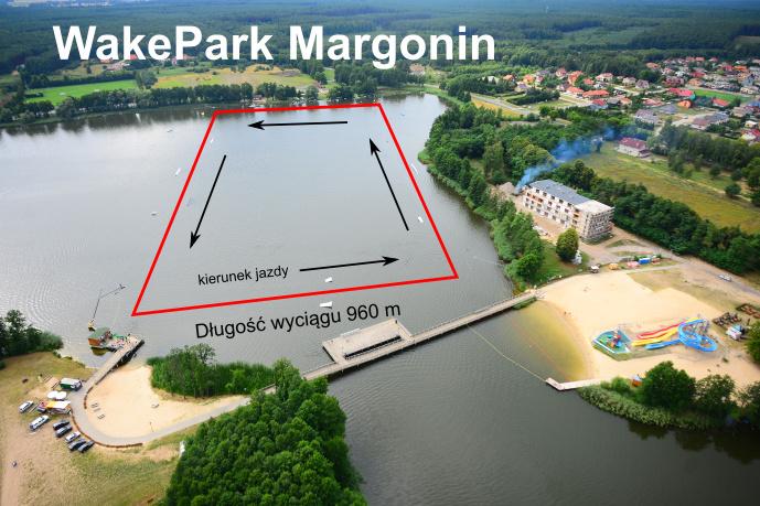 wyciąg nart wodnych Margonin
